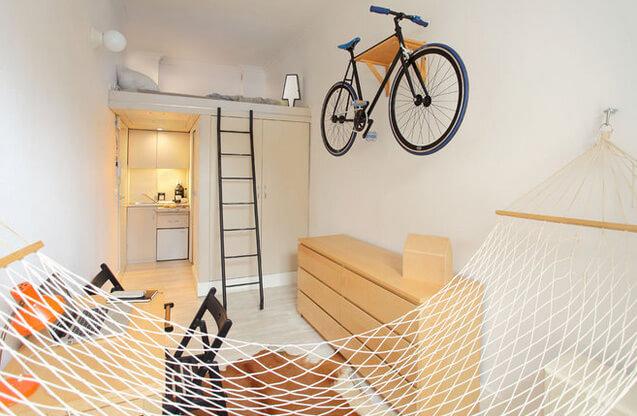 Самая маленькая квартира в Польше - 13 м ²