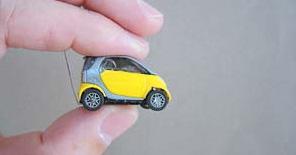 """Самая маленькая радиоуправляемая """"умная машина"""" - smart car"""