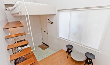 Самый маленький в мире дом. 18 м2. Великобритания. Лондон.
