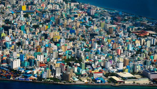 Самые маленькие страны мира. Мальдивы.