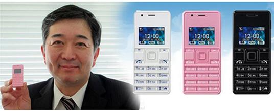 Willcom WX06A. Самые маленькие мобильные телефоны 2015 г.