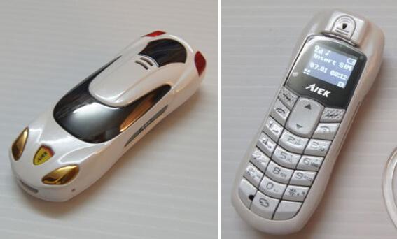Топ-10 самых маленьких мобильных телефонов в 2015 году. Мини-мобильный в форме авто от Aiek