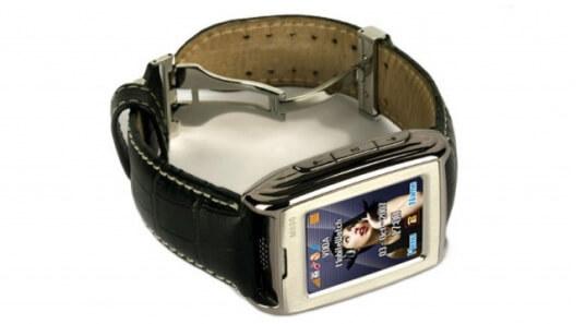 Часы-телефон Cellwatch M500. Самые маленькие мобильные телефоны