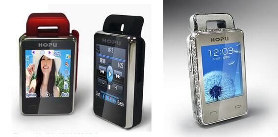 Топ-10 самых маленьких мобильных телефонов в 2015 году. HOPU EC107S и EC107