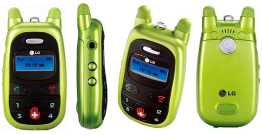 LG Migo. Самые маленькие мобильные телефоны