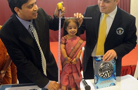 Самая маленькая женщина в мире - Джиоти Амгэ