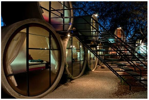 Самые маленькие отели мира. Отель «Tubohotel». Мексика