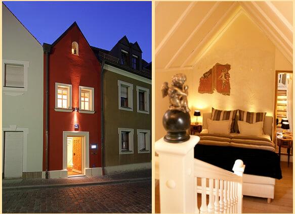 Самый маленький 5* отель для влюблённых в мире - Eh Häusel
