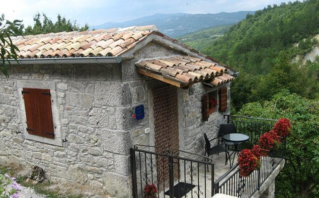 Самый маленький в мире город - Хум в Хорватии. Средневековый домик в котором могут остановится туристы - О Apartman Blagonić - Hum.