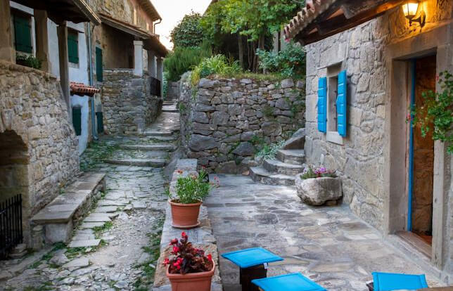 Самый маленький в мире город - Хум в Хорватии.