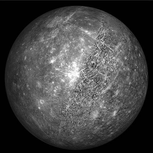 Самая маленькая планета нашей солнечной системы - Меркурий