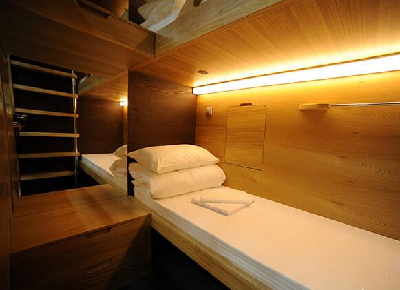 Отель «Sleepbox». Москва.