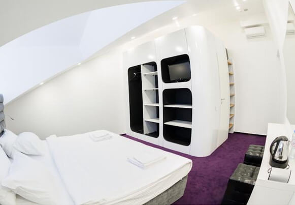 Отель «Sleepbox». Москва.