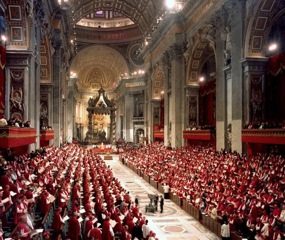 Самая маленькая страна в мире – Ватикан. Собор святого Петра.
