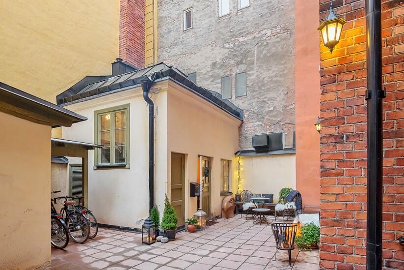 Самый маленький дом в центре Стокгольма - 28 м ²