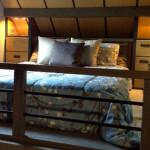 Самые маленькие дома мира.Домик площадью 26 кв.м. в японском стиле, США, Аврора. Спальня на втором этаже.