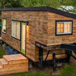 Самые маленькие дома мира. Уютный домик площадью 18,21 кв.м. с открытой террасой, США, Бойс.