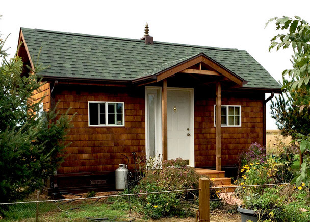 самые маленькие дома мира. Маленький дом с площадью 19 кв.м. в стиле Васту, США, Фаирфилд.