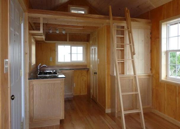 Маленький дом с площадью 19 кв.м. в стиле Васту, США, Фаирфилд.