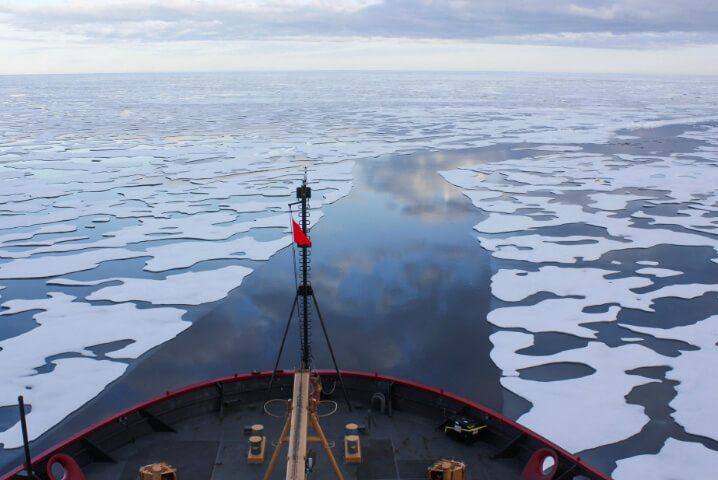Самый маленький океан на земле. Северный Ледовитый океан.