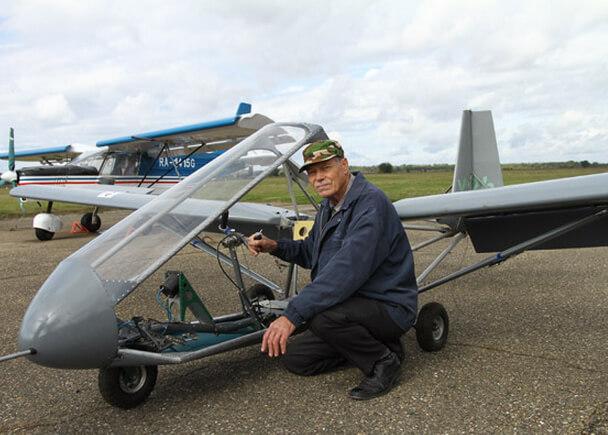 Самые маленькие самолеты в мире. №10 Х-12H