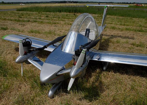 Самые маленькие самолеты в мире. Colomban Cri-cri.
