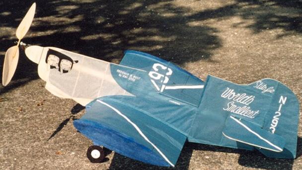 Самые маленькие самолеты в мире. Stitts' SA-1A Junior No-Cal