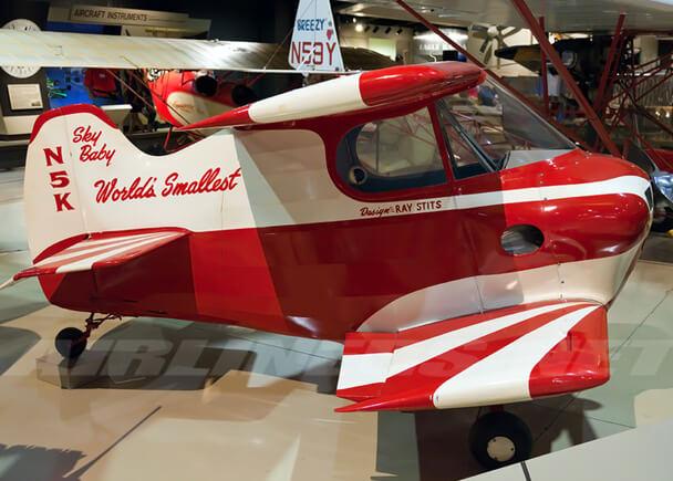 Самые маленькие самолеты в мире. Stits SA-2A Sky Baby.