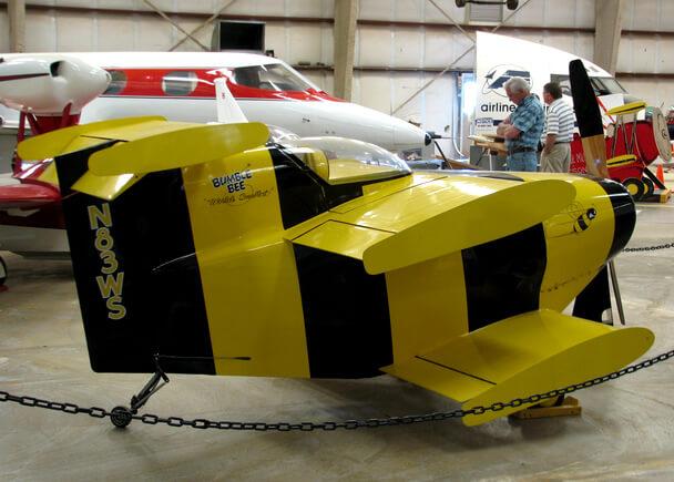 Самые маленькие самолеты в мире. Bumble Bee.