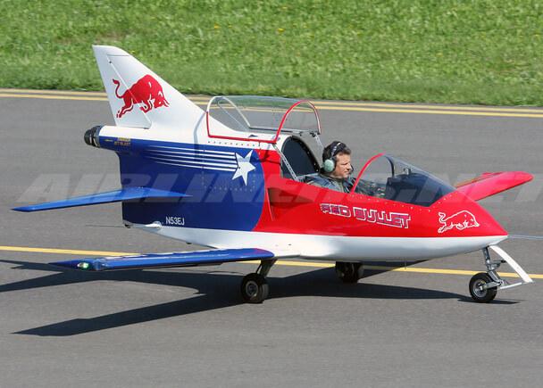 Самые маленькие самолеты в мире. BD-5J.