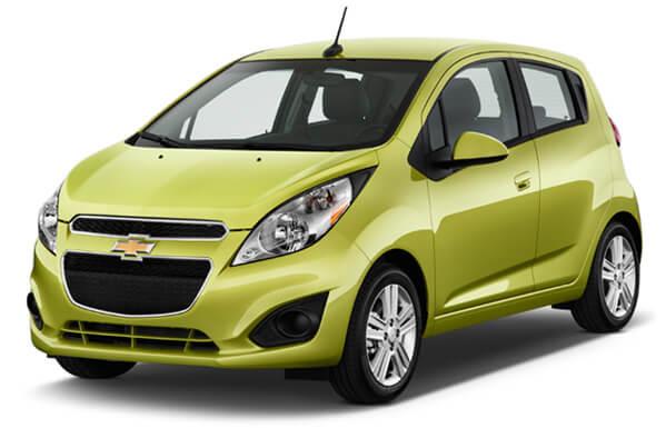 Топ-10 самых маленьких автомобилей 2015 года. Chevrolet Spark 2015.