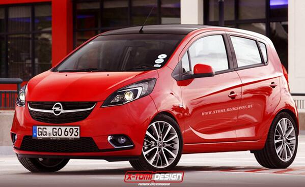 Топ-10 самых маленьких автомобилей 2015 года. Vauxhall Viva (Opel Karl) 2015