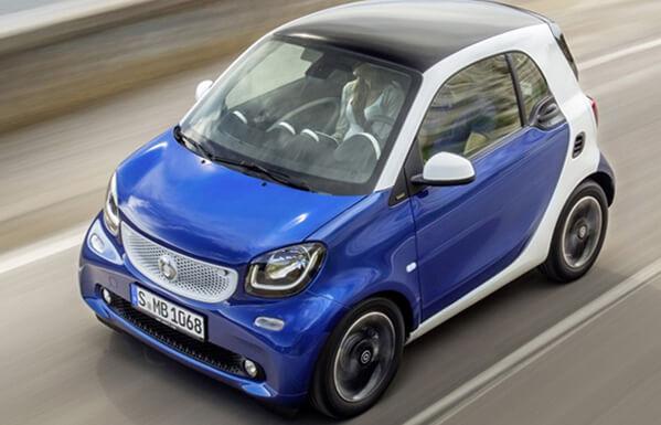 Топ-10 самых маленьких автомобилей 2015 года. Smart Fortwo 2015.