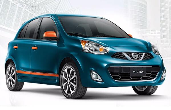 Топ-10 самых маленьких автомобилей 2015 года. Nissan Micra 2015.