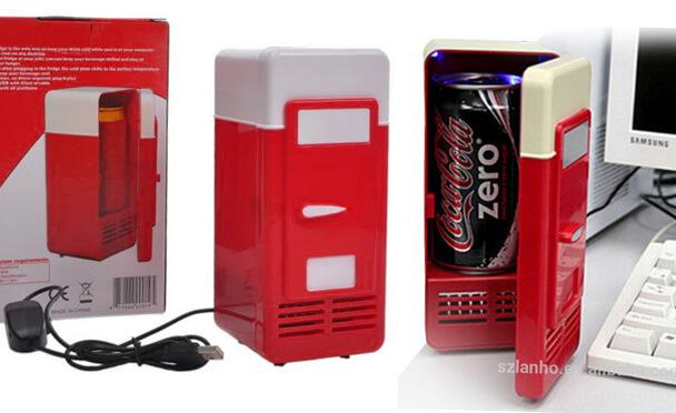 Самые маленькие холодильники в мире. ТОП-10. 2015 год. USB холодильник от Giwox.