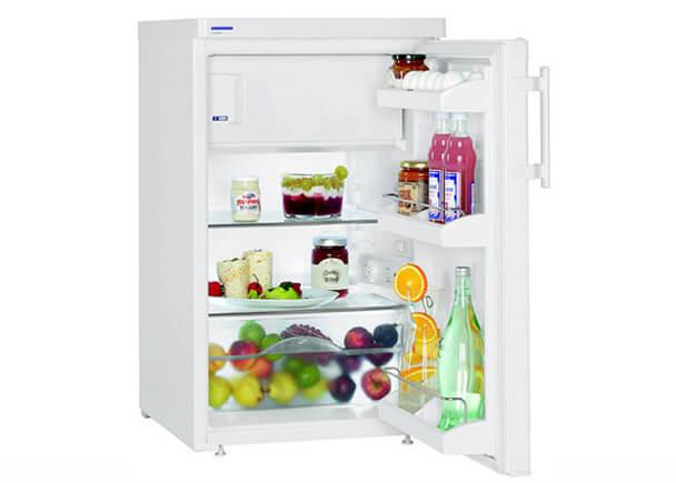Самые маленькие холодильники в мире. ТОП-10. LIEBHERR T 1414
