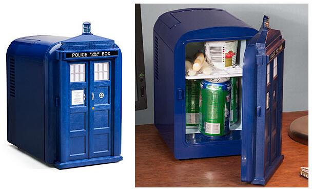 Самые маленькие холодильники в мире. ТОП-10. 2015 год. Мини холодильник «Тардис»