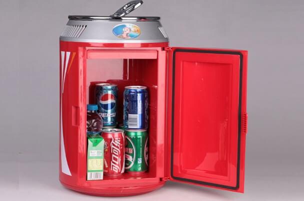Самые маленькие холодильники в мире. ТОП-10. 2015 год. Портативный мини холодильник от Giwox