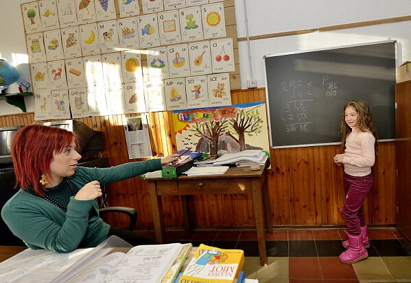 Самые маленькие школы в мире. Школа в Турине.