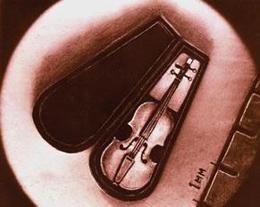 Скрипка мастера Н. Сядристого