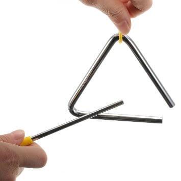 Самые маленькие музыкальные инструменты. Топ-10. Треугольник