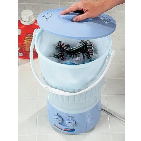 Самые маленькие в мире стиральные машины. Wonder Washer.