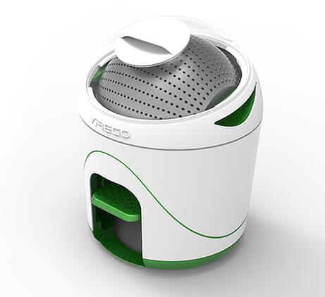 Самые маленькие в мире стиральные машины. Yirego Drumi.
