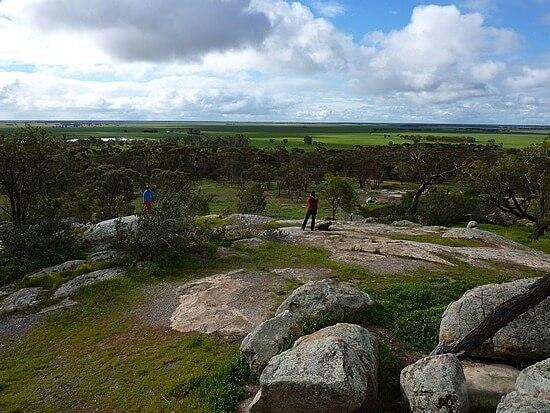 Самая маленькая и низкая гора в мире - Вичепруф (Wycheproof) в Австралии