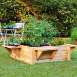 Дизайн маленького сада. Мини - огород