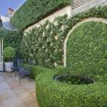 Дизайн маленького сада. Оформление внутреннего дворика.
