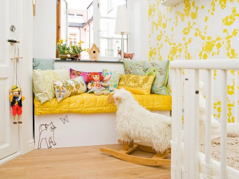 Маленькая детская комната. Идеи дизайна.