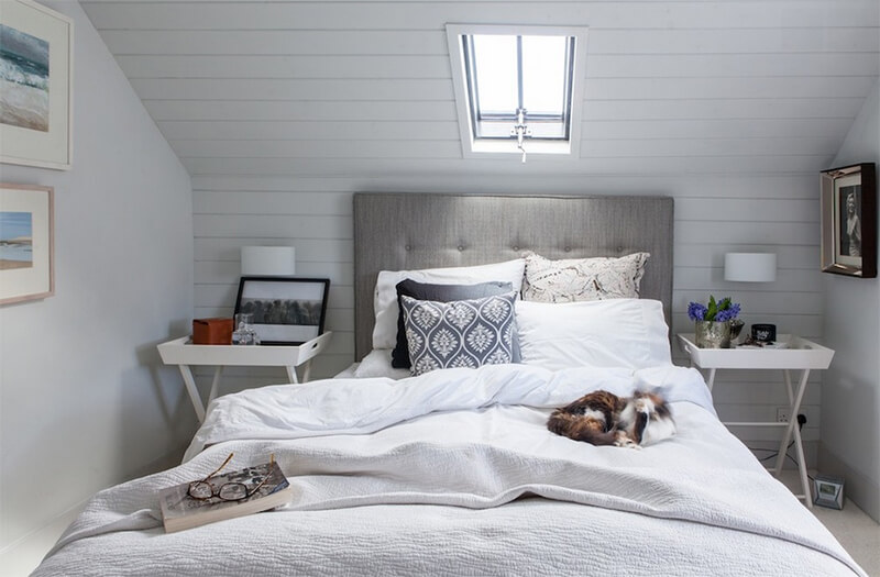 Изголовье кровати. Маленькая спальня. Интерьер и дизайн маленькой спальни. Идеи и декор.