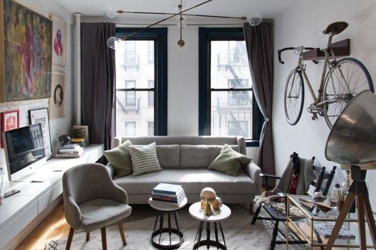 Маленькая гостиная. Идеи дизайна и интерьера.
