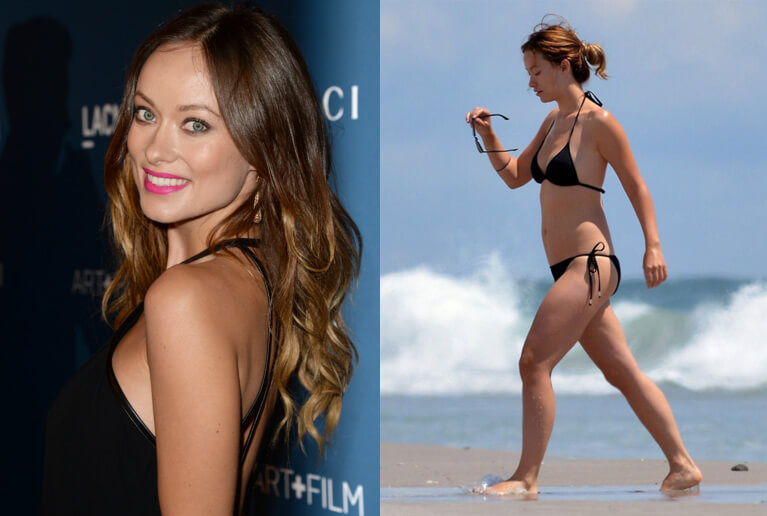 Olivia Wilde celebrities with short legs